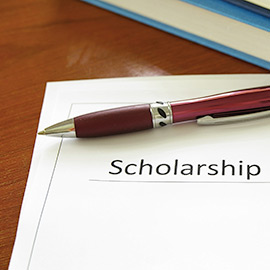 Graduate scholarship application