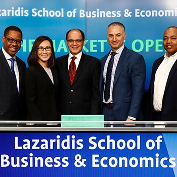 Lazaridis Executive Master's in Technology Management helps to open the TSX Market