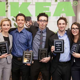 Laurier students' 3D printing idea wins at IKEA Canada sustainability challenge