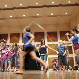Laurier's sold-out Arts Express camp for children with special needs concludes with free public performance