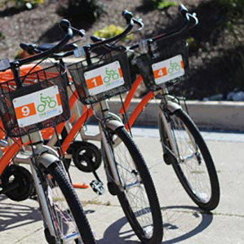Laurier Sustainability Office to unveil first on-campus bike-sharing station in region
