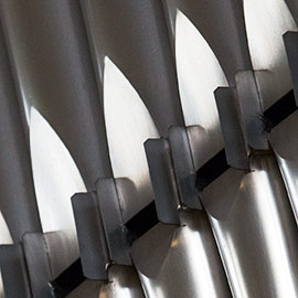 Image of organ pipes