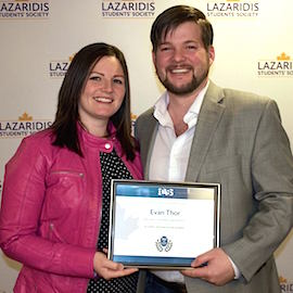Lazaridis School alumnus Evan Thor wins CABS Alumni Achievement Award