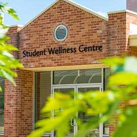 Image of the Student Wellness Centre