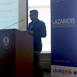 Inaugural Lazaridis School Research Day highlights depth and diversity of graduate students