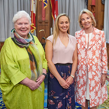 Julia Read awarded with Hilary M. Weston scholarship at Queen's Park