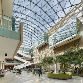 Laurier's Lazaridis Hall wins international Civic Trust Award