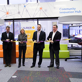 Brantford Community Innovation Hub Ribbon Cutting