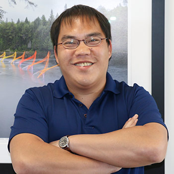Image of Laurier student James Lau