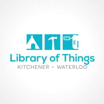 Library of Things Kitchener-Waterloo logo