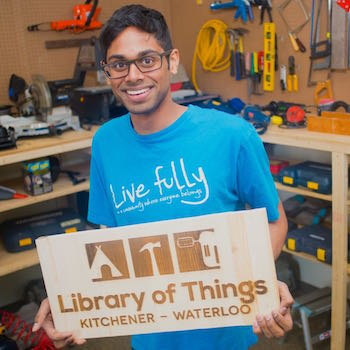 Image - Library of Things, co-founded by Laurier graduate student, set to launch in Kitchener-Waterloo