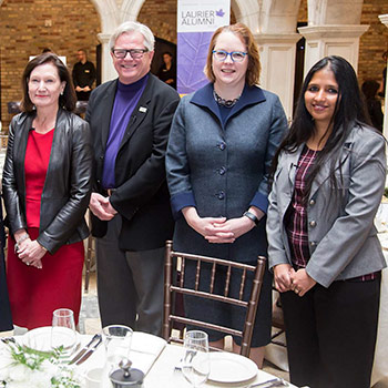 Laurier and IWF celebrate International Women's Day with special panel discussion