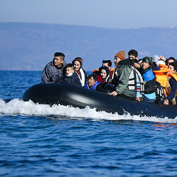 Laurier researchers study migrants' journeys across the Mediterranean Sea