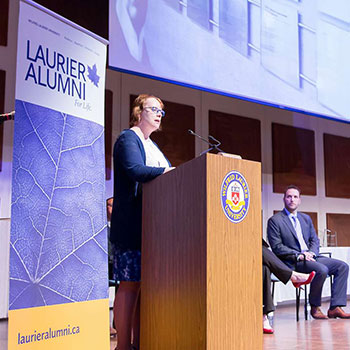 Laurier's Alumni Awards of Excellence honour achievements