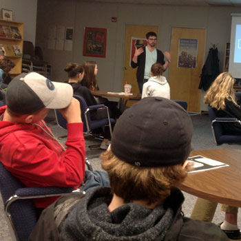 Image - Laurier PhD student helps high school history class delve deep into the lives of First World War veterans