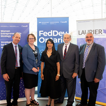 Laurier receives $1.3M in federal funding to support women entrepreneurs