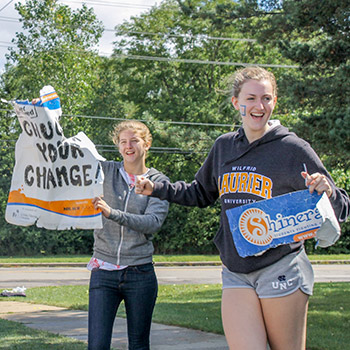 Summer events kick off Shinerama fundraising at Laurier