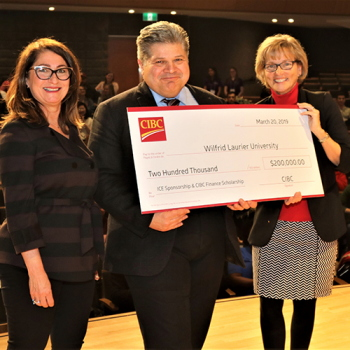 CIBC supports women in finance, immersive learning at Laurier's Lazaridis School of Business and Economics