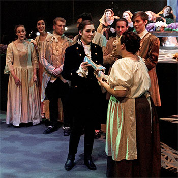 Opera Laurier students sparkle in Massenet's Cendrillon (Cinderella)