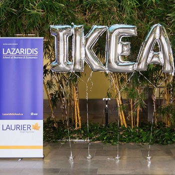Laurier business students compete in sustainability challenge to win internship at IKEA