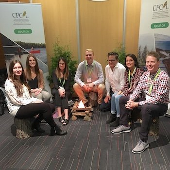 Canadian Parks Conference gives Laurier students opportunities to engage with parks professionals and youth leaders