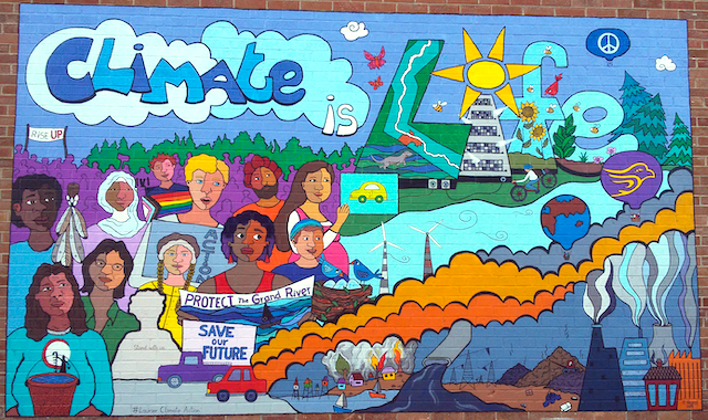 Climate is Life mural