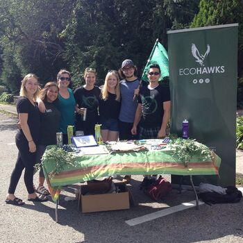 EcoHawks promote sustainability at Laurier, at home and beyond.