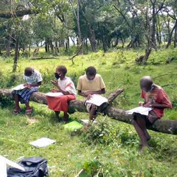 Bringing education home to Kenyan children during the COVID-19 pandemic