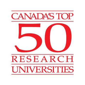 Laurier named one of Canada's Top 50 Research Universities.
