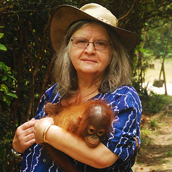 Image - Laurier welcomes primatologist Biruté Mary Galdikas as inaugural speaker in Anne Innis Dagg Lecture Series