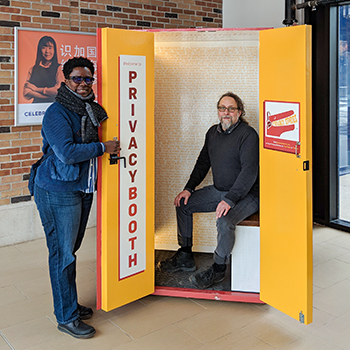 Privacy Booth collects stories to teach students about digital privacy