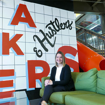 Laurier employee shares what it's like splitting her time between the university and Communitech