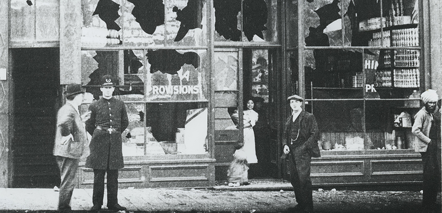 Vancouver anti-Asian riots of 1907 and the parallels to Canada's modern-day racial divide.
